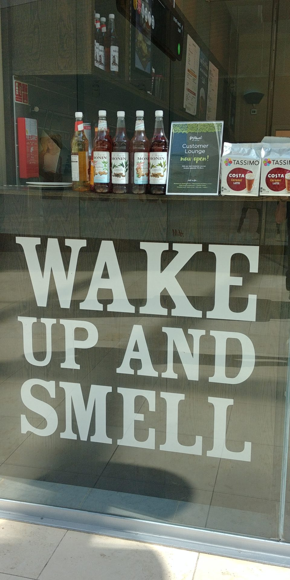 Wake up and Smell?