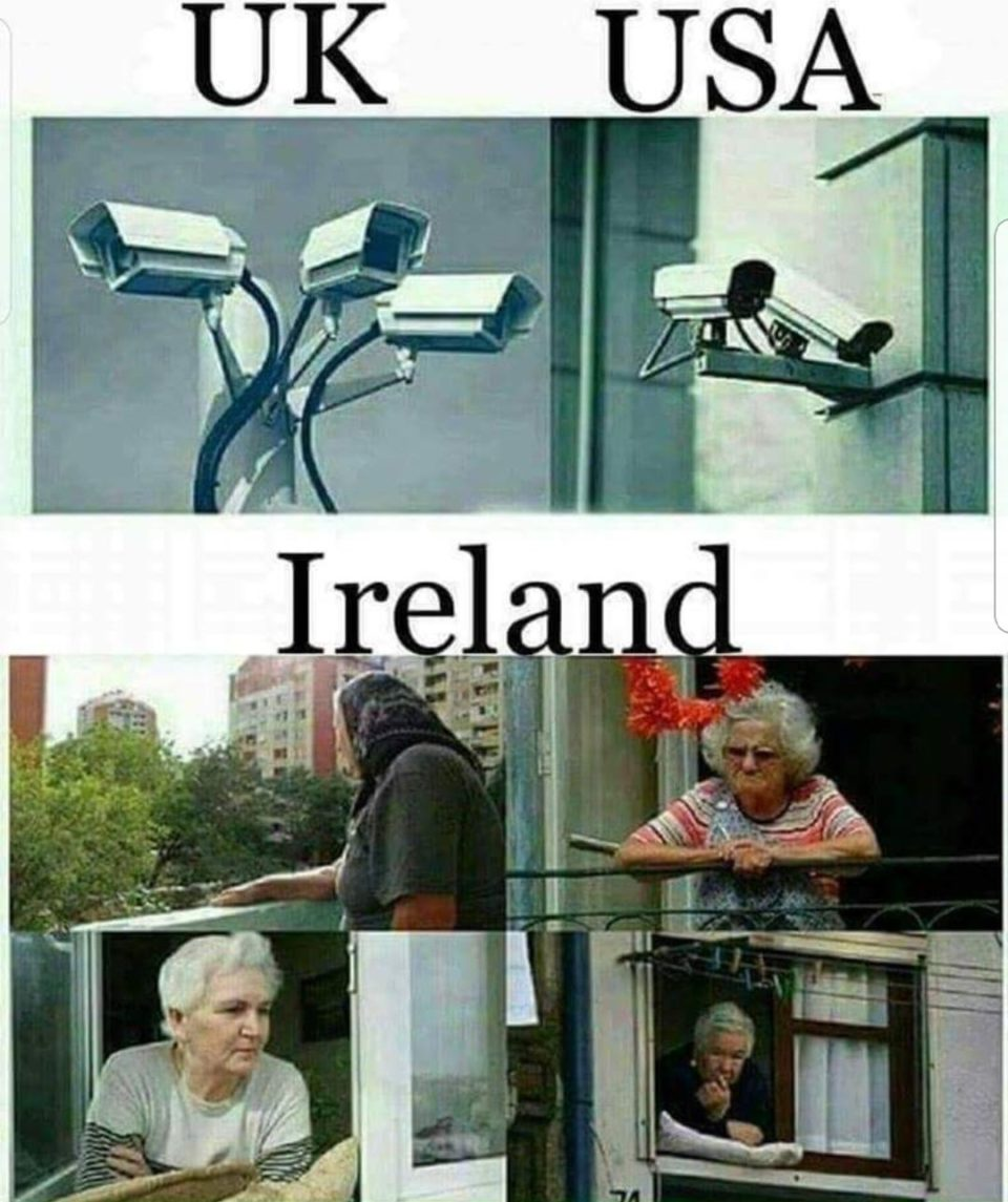 Meanwhile in Ireland!