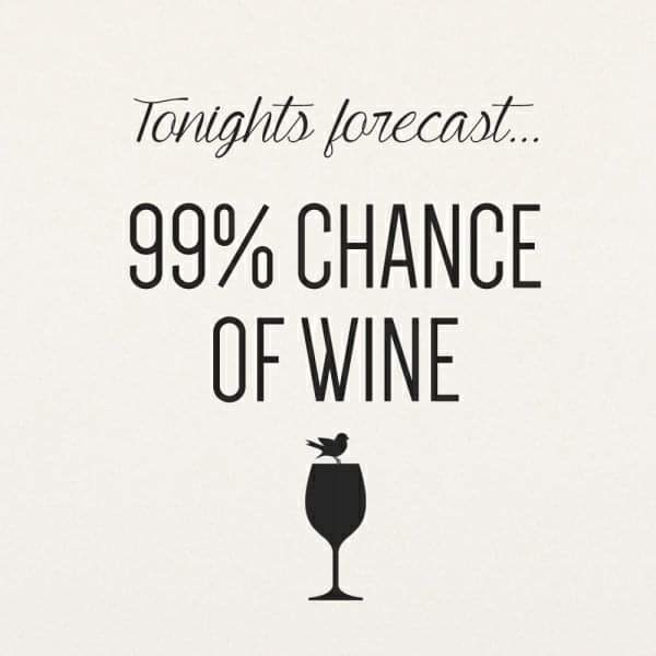 The forecast!