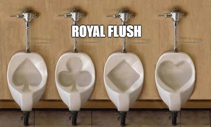 Royal wedding loos