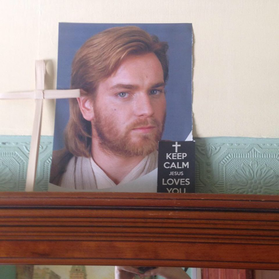 Grandma. That's not Jesus!