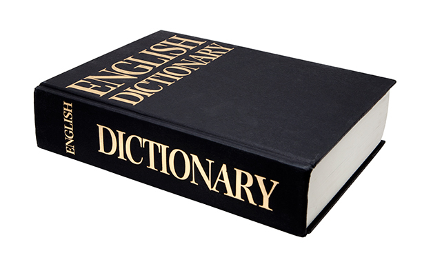 New Dictionary Definitions
