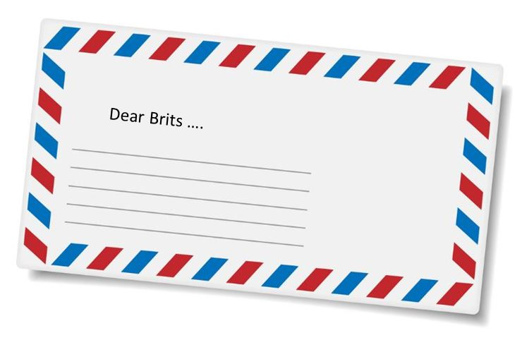 Letter to the Brits