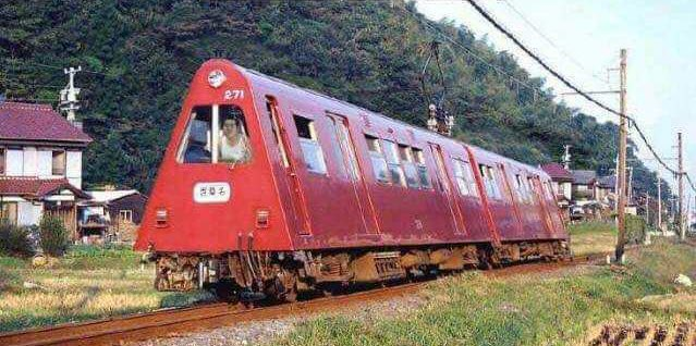 Japan's Toblerone train!