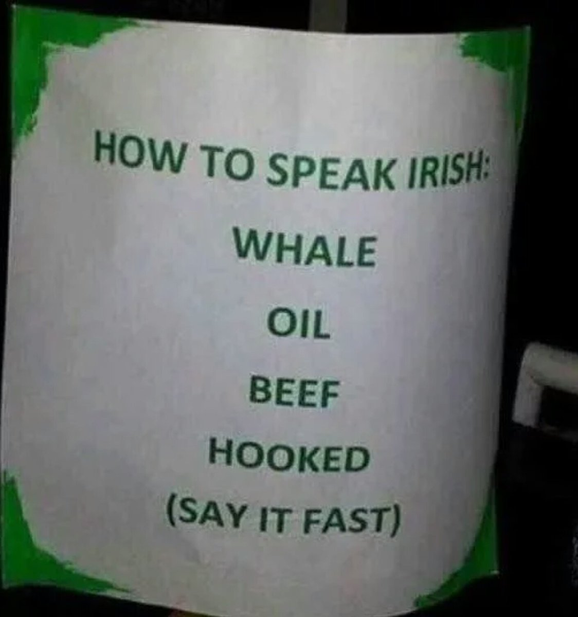 Meanwhile in Ireland ☘️