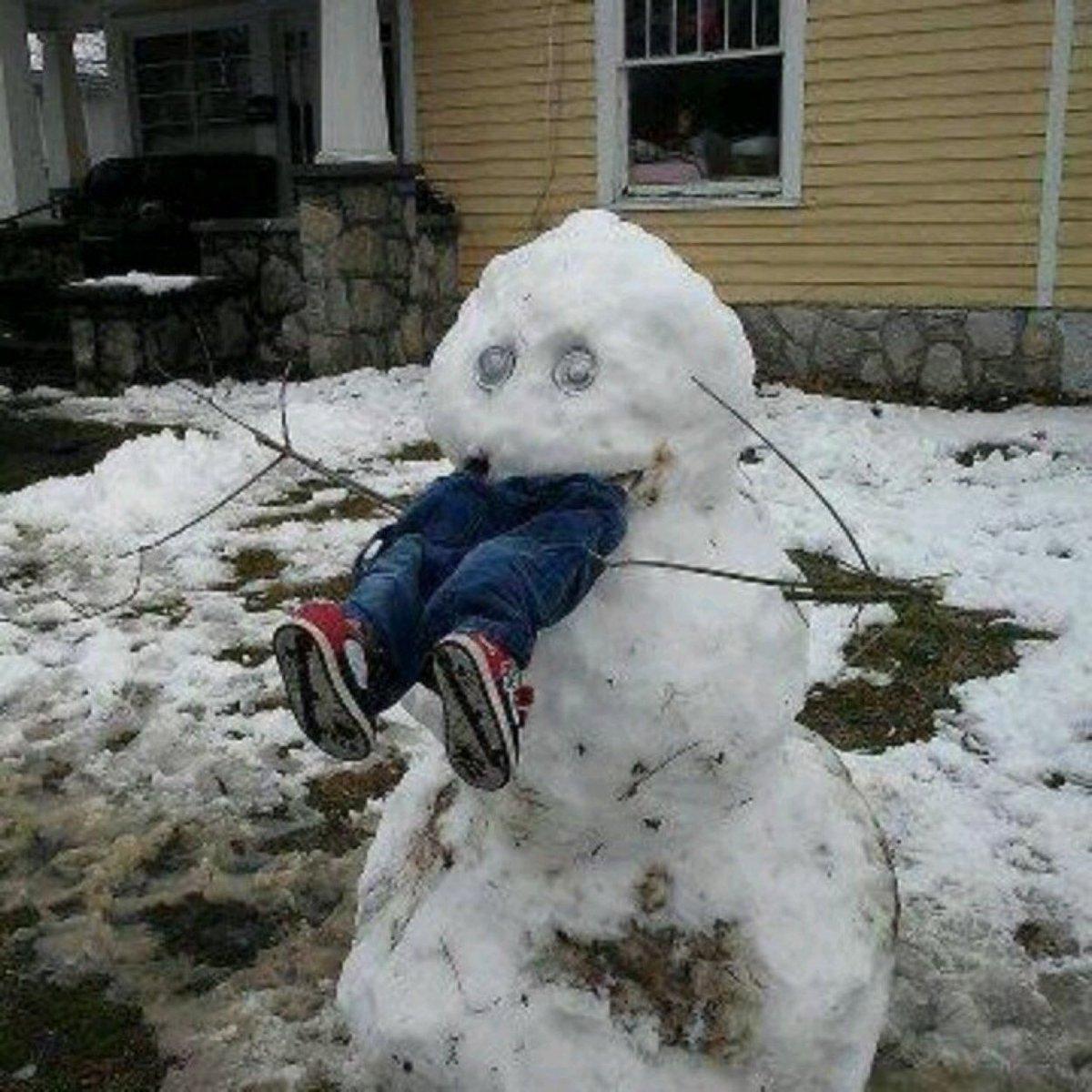 Snowman revenge ⛄️