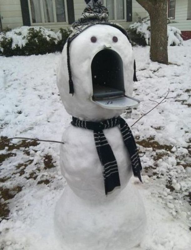 Anyone seen the mailbox? 😜