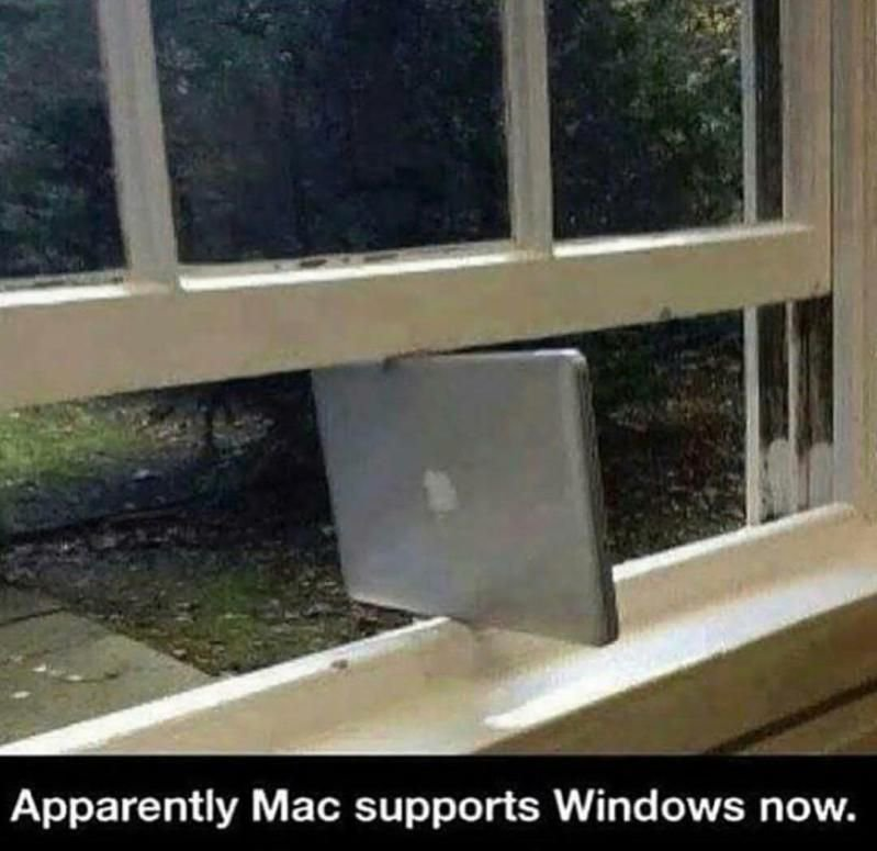 Apple Mac now supports Windows!