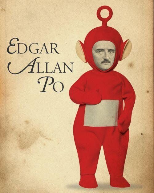 Remember Edgar from the Teletubbies? 😀