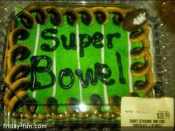 Unfortunate Superbowl Typo! 😐