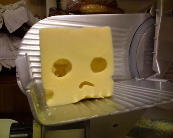 Cheese on Death Row 😐