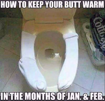 New Government advice for the cold weather!