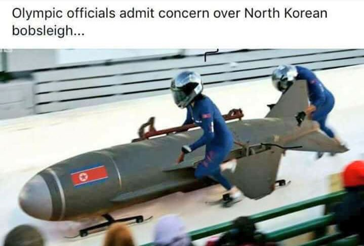 Meanwhile at the Olympics
