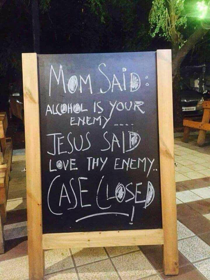 Love thy enemy!