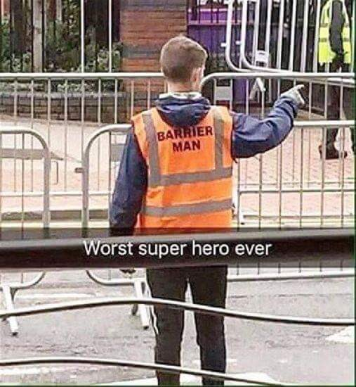 Worst superhero ever!