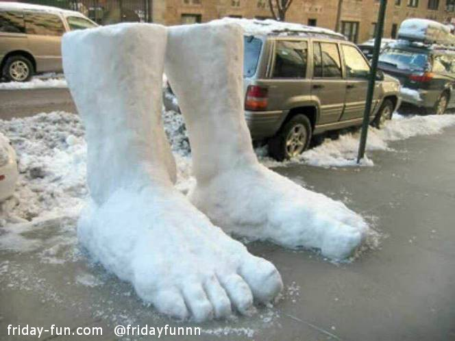 Two feet of snow already!