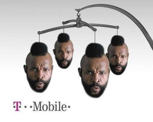 Whatever happened to Mr T? Is that him on his mobile? 😎