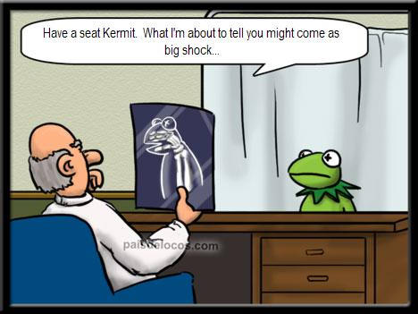 Disturbing news from the Doc!