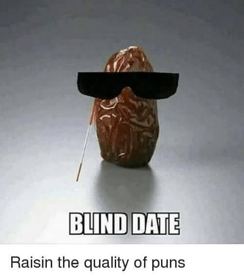 Saturday! Good night for a blind date 😀
