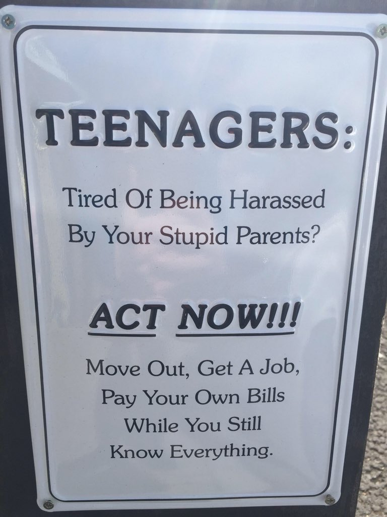 Top tip for teens!
