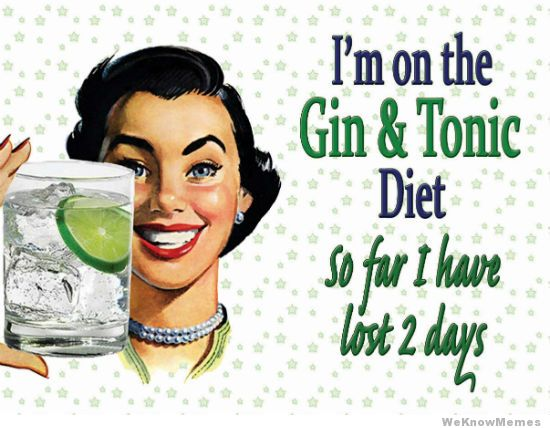 Gin & Tonic diet!
