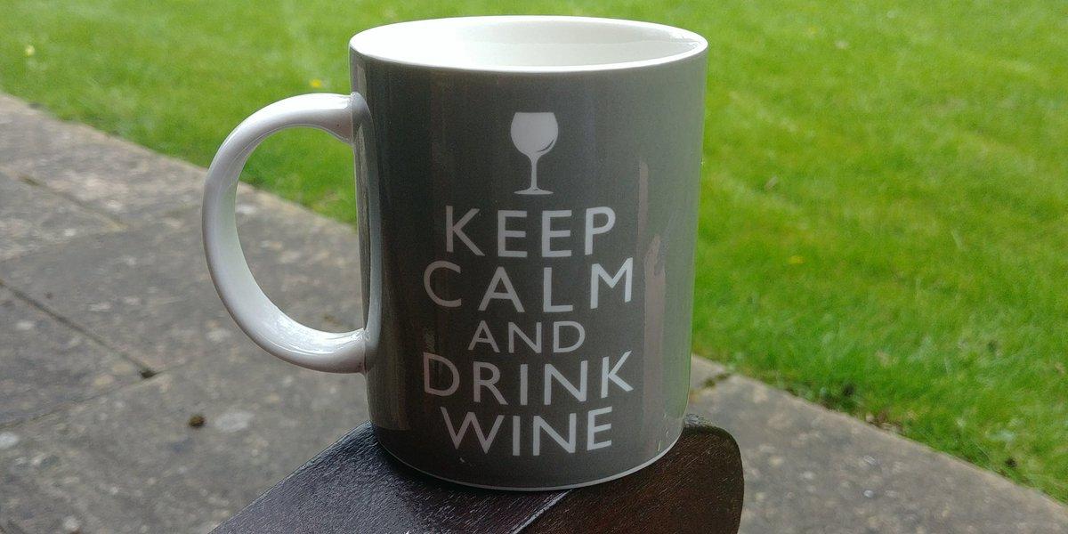 Like my new coffee mug?