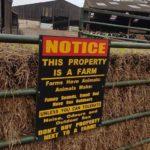 Farms smell!