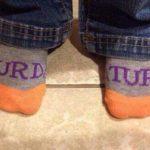 Was enjoying my weekday socks - until Saturday!