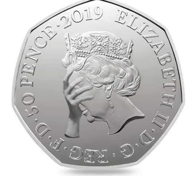 Britain's new Brexit inspired 50p coin released today! 😱