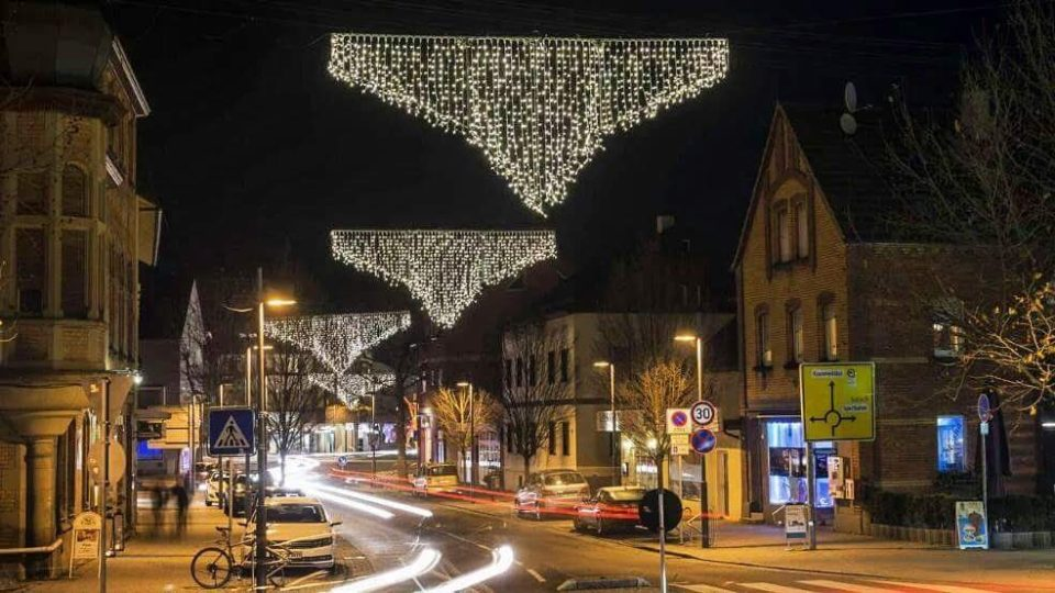 The Christmas Lights in our town are pants 😀