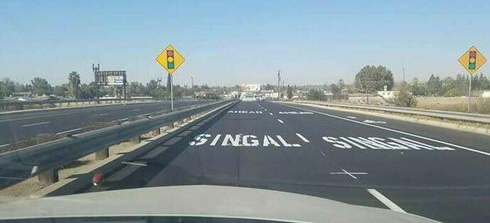 Singal ahead! Yikes 😀