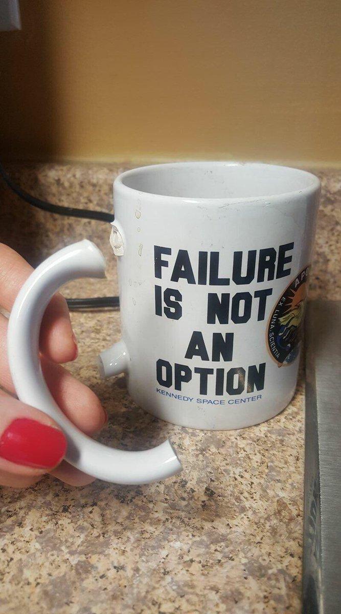 Failure is not an option 😀