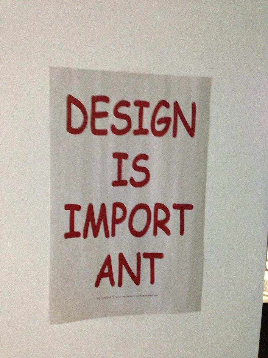 Design is Import Ant! 😀