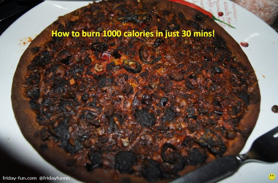 How to burn 1000 calories in just 30 mins! 😀