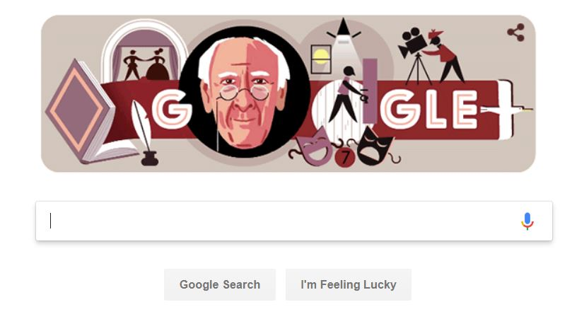 Nice to see Nick Hewer featuring on the Google homepage today 😃
