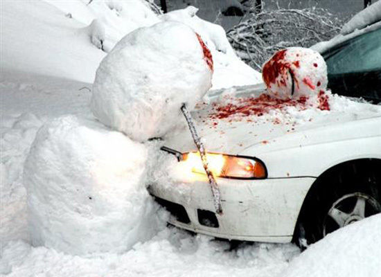 First snow related accident stuns the UK 😒