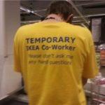 Bit cruel, eh IKEA? 😀
