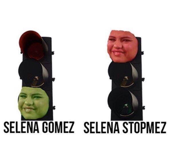 Makes sense! 😀 Selena Gomez. Slena Stopmez.
