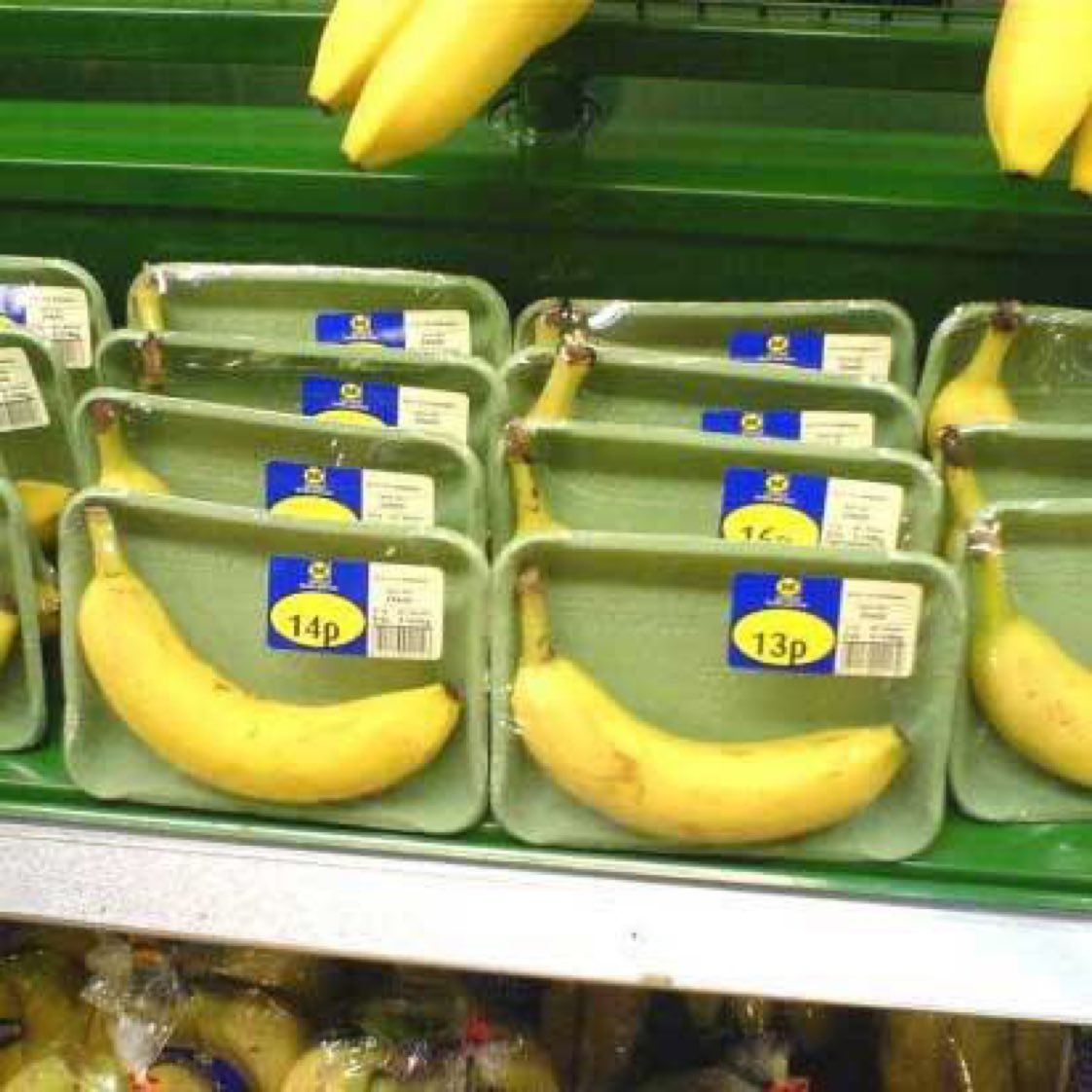 If only bananas came with some kind of natural protective covering! 😆