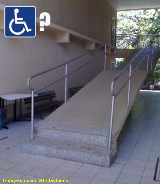 Some disabled ramp! 😀