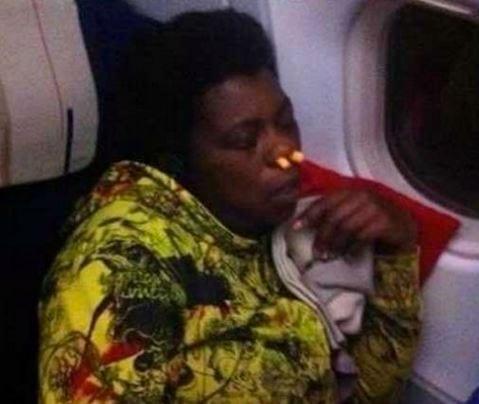You always need noseplugs on a flight! 😀
