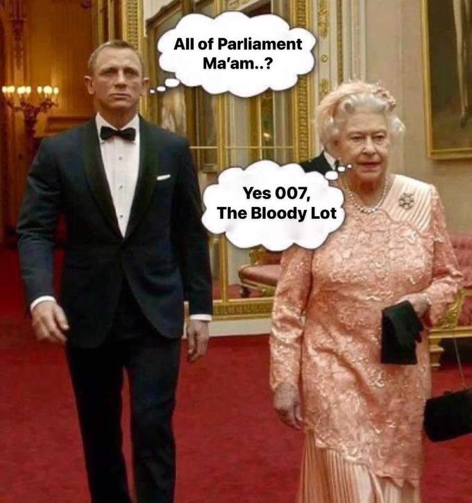 The Queen on Brexit! 😀