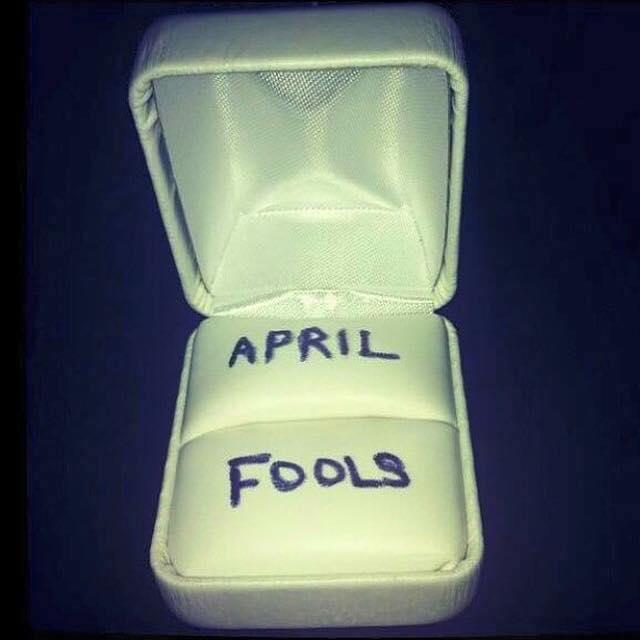 Happy April Fools Day! 😀