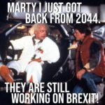 Brexit lingers on 😀
