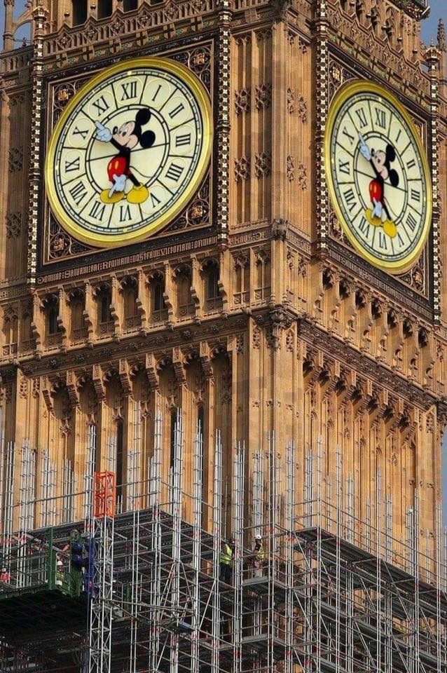 The new Brexit inspired Big Ben 😀