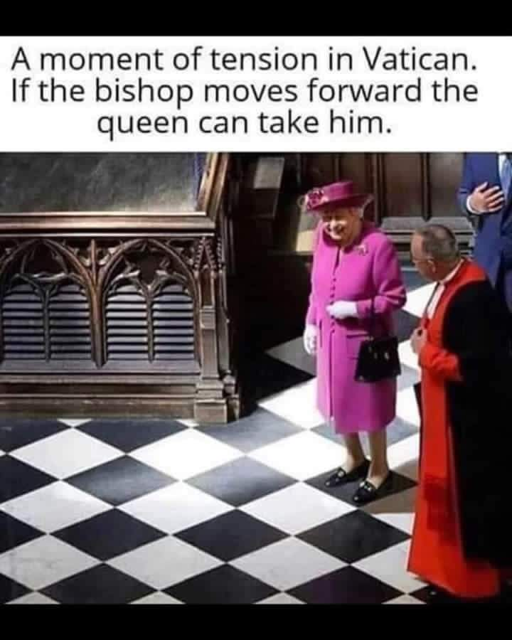 Advantage to Her Maj 😀
