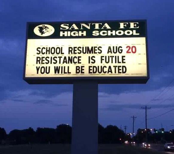Back to School - there's no escape! 😀