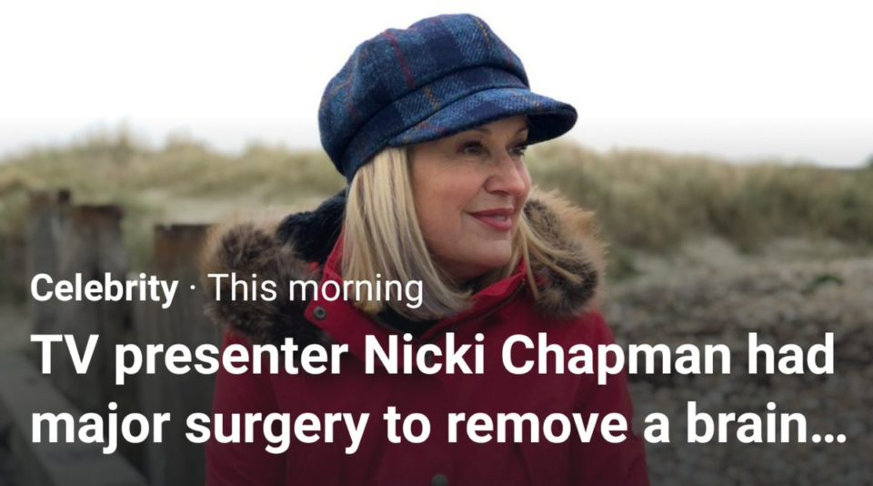 They removed her BRAIN? Yikes! 😀
