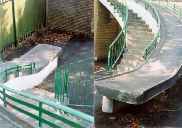 Some disabled ramp huh? Looks fun! 😃