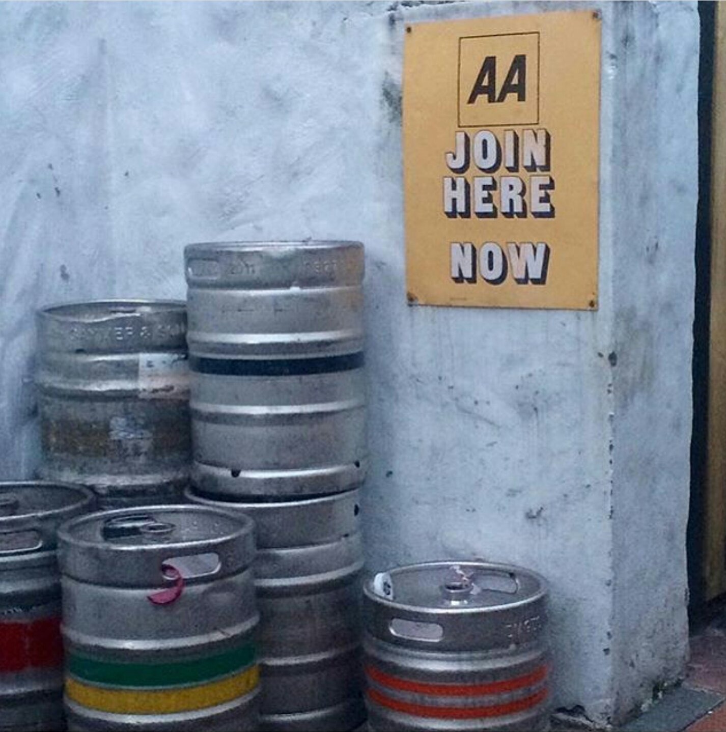 Meanwhile in Ireland AA memberships are up 🍷